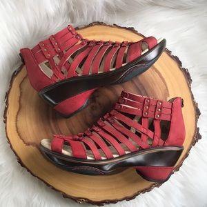 Jambu Shoes - Jambu leather strappy sandals